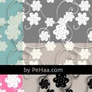 Link toPaper flowers pattern