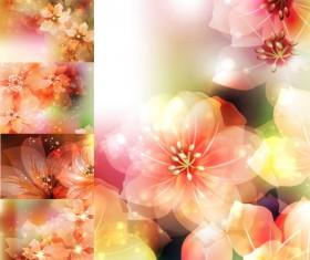 Dream flower background vector Graphic