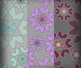 Free 3 Flowers Patterns