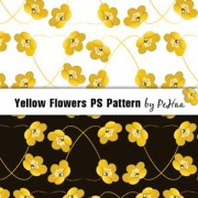 Link toYellow flowers ps pattern