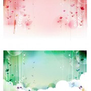 Link toDream fairy background vector graphic