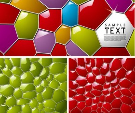 Colorful honeycomb text box