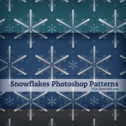 Link toSnowflakes photoshop patterns