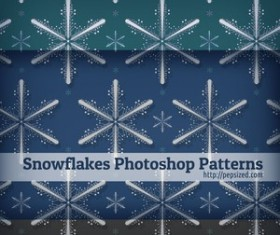 Snowflakes Photoshop Patterns
