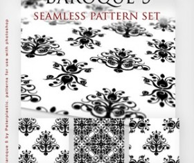 Baroque Seamless Pattern for Photoshop