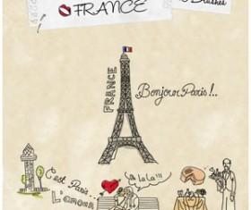 France Photoshop Brushes