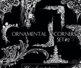 Ornamental Corners set 2 Photoshop Brushes