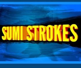 Sumi Strokes Photoshop Brushes