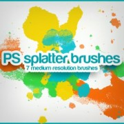 Link toSplatter photoshop brushes
