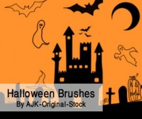 Halloween Brush Pack Photoshop Brushes