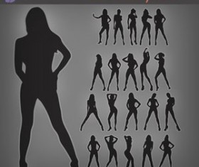 Sexy Silhouettes Photoshop Brushes