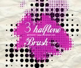 Halftone Brush Pack Photoshop Brushes
