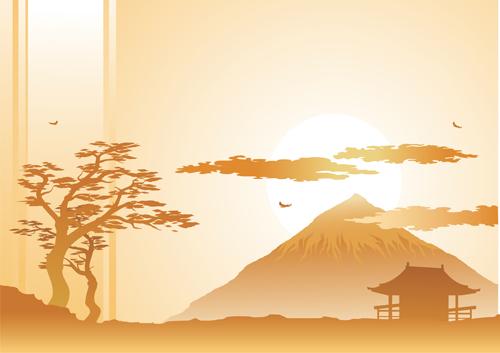 Japan Object Design Vector 04 Free Download