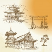 Link toJapan object design vector 07