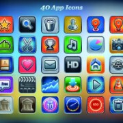 Link toVintage mobile phone icons 01