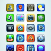 Link toVintage mobile phone icons 04