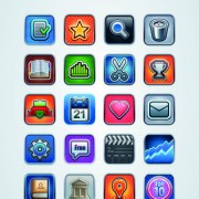 Link toVintage mobile phone icons 05