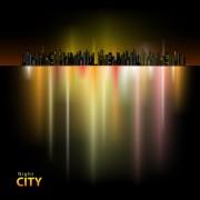 Link toShiny night city landscape vector 03