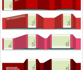 Banner Numbers vector 01