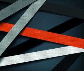 Paper strip vector backgrounds 05
