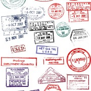 Link toVector passport stamps design set 02