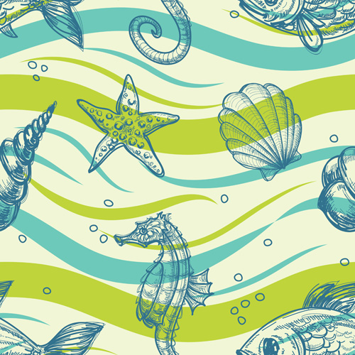 Shiny Summer background vector 04