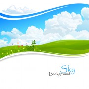 Link toShiny summer background vector 08