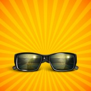 Link toStylish sunglasses vector 01