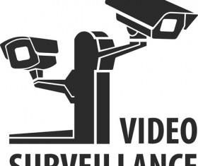Vector Video surveillance design elements 02