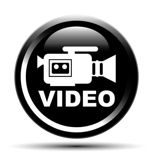 Vector Video surveillance design elements 05