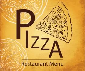 vintage Restaurant menu design vector 01