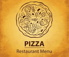 vintage Restaurant menu design vector 04