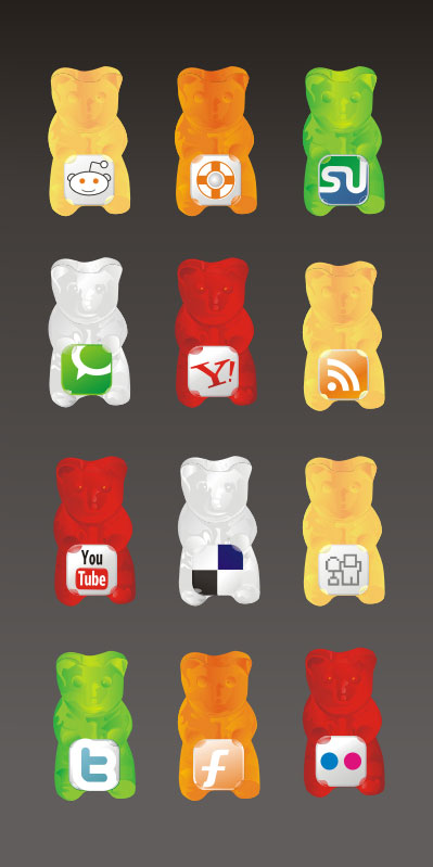 Bear icon vector vector