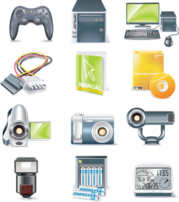 Digital device Icon vector - Vector Icons free download