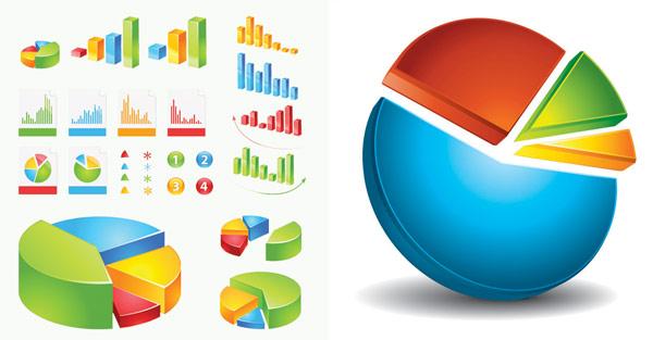 data statistics icon vector free download