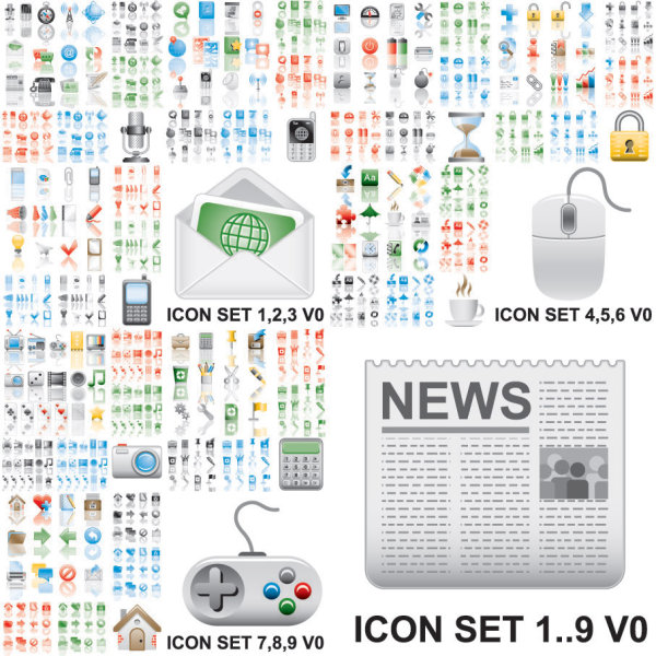 utility of the icon vector vector