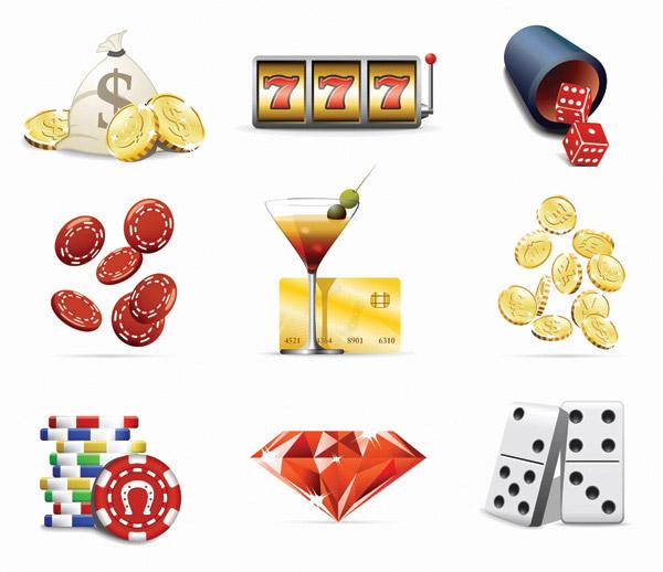 Gaming Creative icons vector