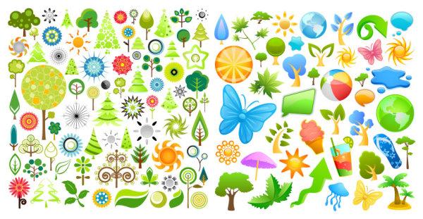 Summer Theme Icon vector