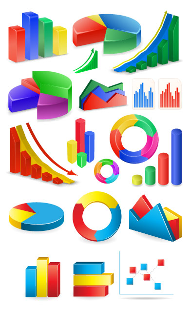 Data statistics Icon vector