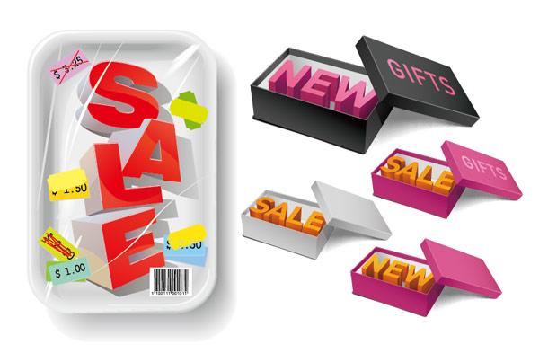 Goods sales Icon vector