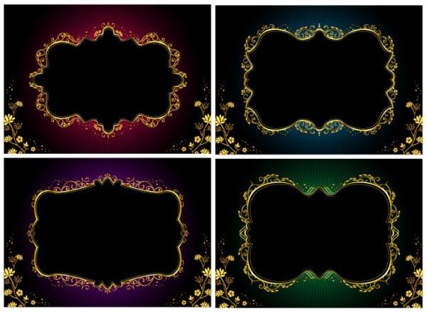 ornate gold frame border. Perfect Ornate Ornate Gold Border Vector In Gold Frame R