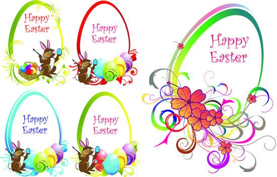 Easter Border Vector Free Download