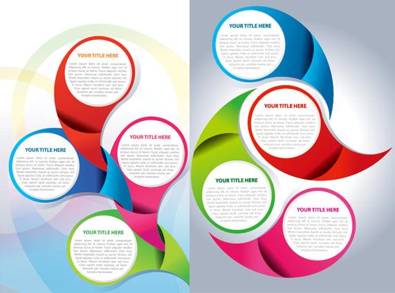 Circular background design 1 Vector - Vector Background free download