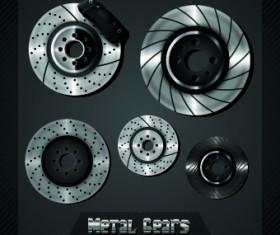 Auto service design elements vector 04