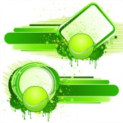 Link toBall with garbage illustration vector 02