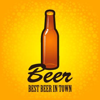 Creative Beer Poster Design Vector 02