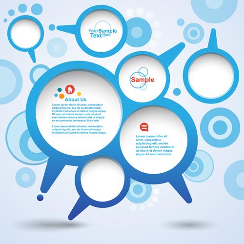 Different Speech Bubbles backgrounds 05