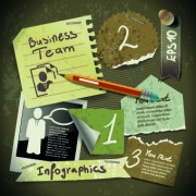 Link toBusiness infographic creative design 118