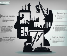 Business Infographic creative design 47