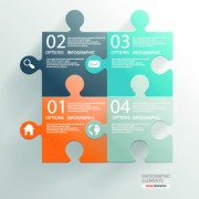 Link toBusiness infographic creative design 64